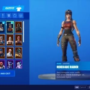 Fortnite account Renegade raider and recon expert